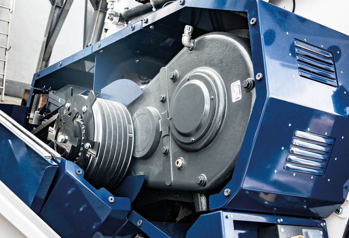 Lindner Micromat – High performance gearbox drive